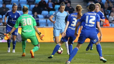 Man City Women 1-1 Birmingham