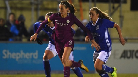 City suffer first defeat at Birmingham