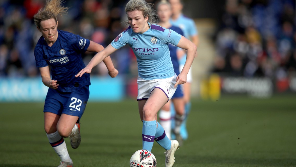 FA WSL highlights: Chelsea 2-1 City