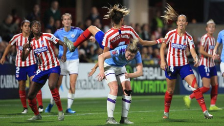 City edged out by Atletico