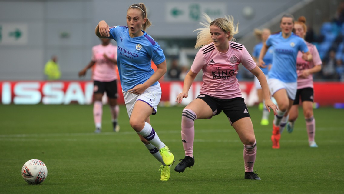 Continental Cup highlights: City v Leicester