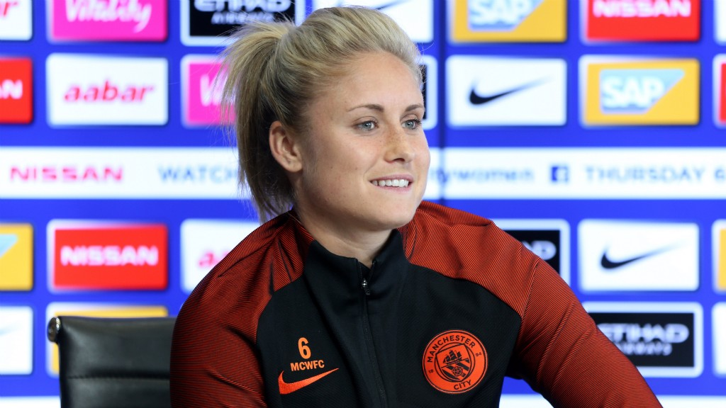 Houghton targeting Champions League title after signing new City deal