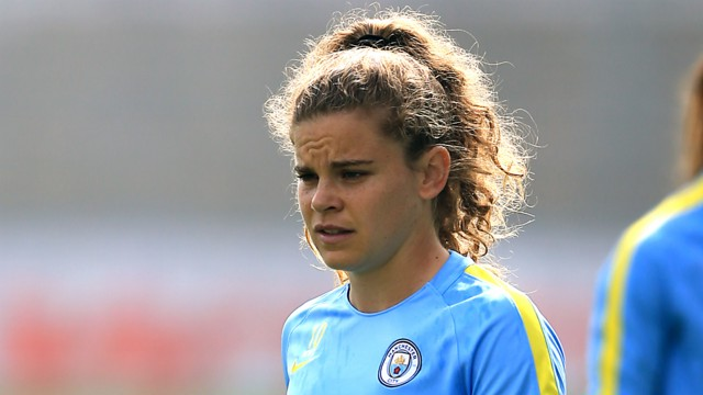 AMERICAN DREAM: Daphne Corboz says she has improved hugely since joining City - and hopes her form will earn a USA call-up