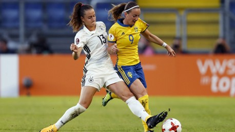 EXCITING SUMMER: Kosovare Asllani is one of ten MCWFC representatives at Euro 2017 this month.