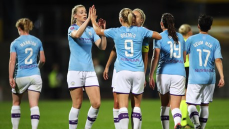 Houghton and Bremer earn FA WSL award nominations
