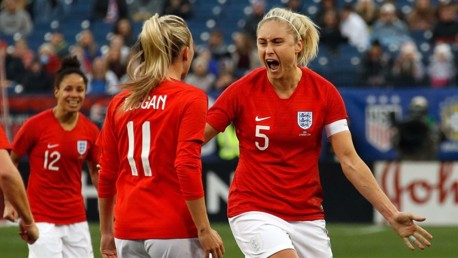 Houghton leads England to SheBelieves glory