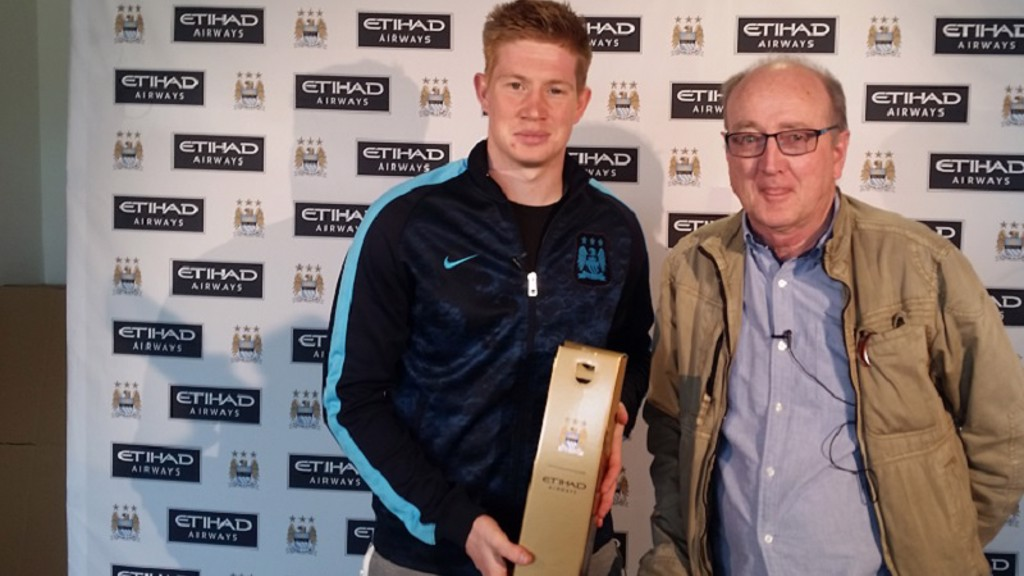 Kevin wins player of the month