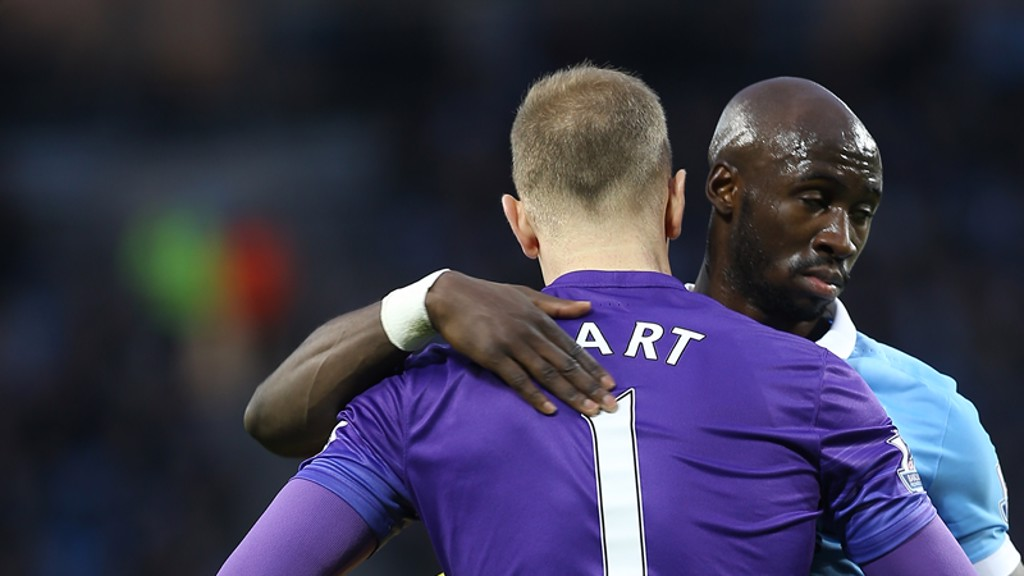 CASE FOR THE DEFENCE: Mangala hails Hart
