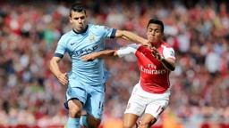 HEAVYWEIGHTS: Stars like Aguero and Alexis Sanchez could feature as City face Arsenal in Gothenburg.