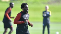 WILFRIED: Bony working hard at the CFA