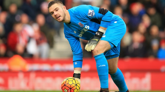 FIGHTING FIT: Jack Butland could return for Stoke against City on Saturday.