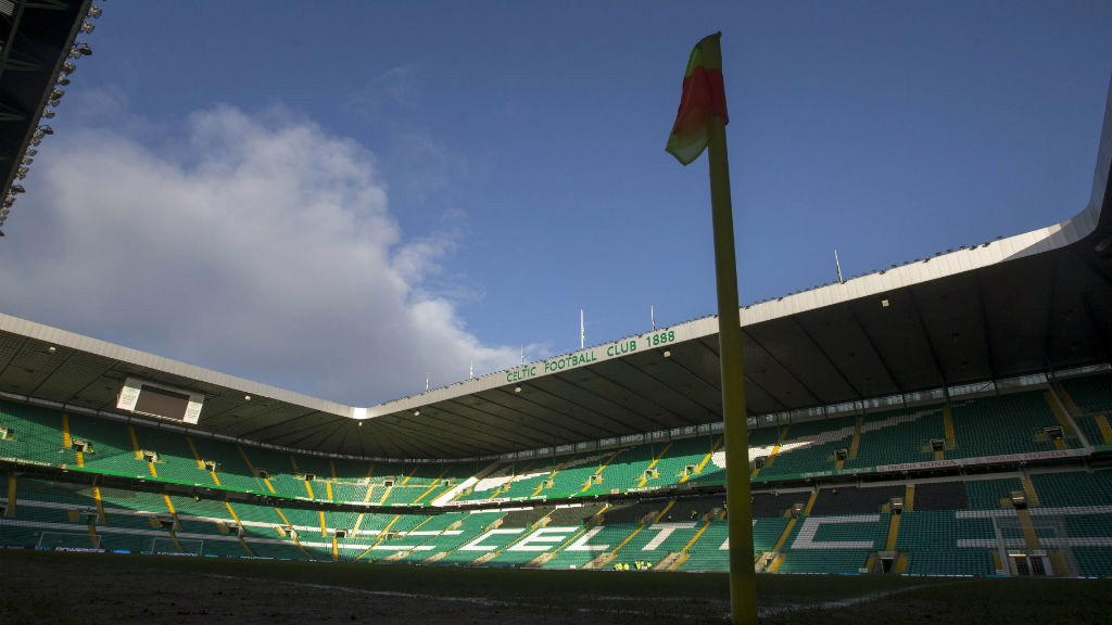 CELTIC PARK: The home of the Scottish club...