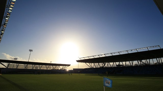 CFA: The Academy Stadium shines in the summer sun.