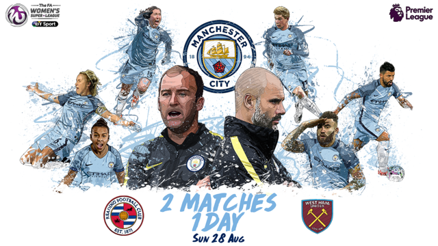 CITY DAY: Double header at the Etihad Campus.
