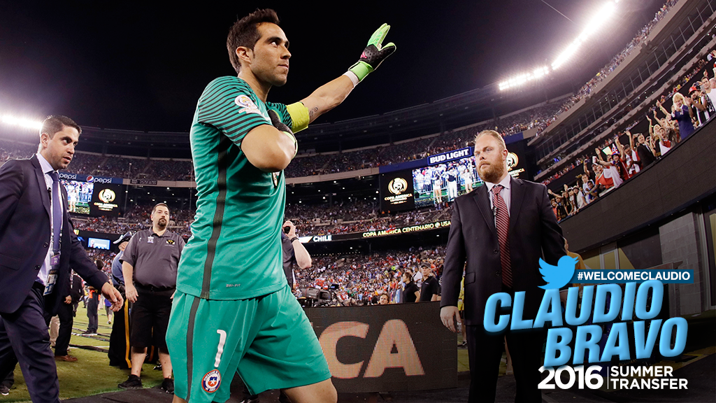 BRAVO: Social reaction to City announcing the signing of Claudio Bravo