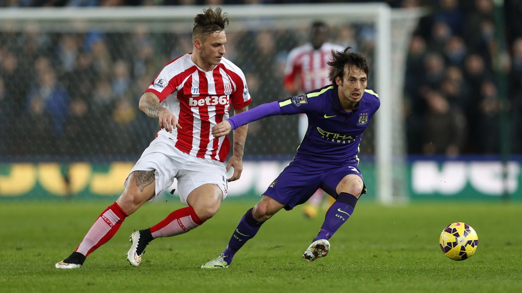 Top Five: Stoke v City