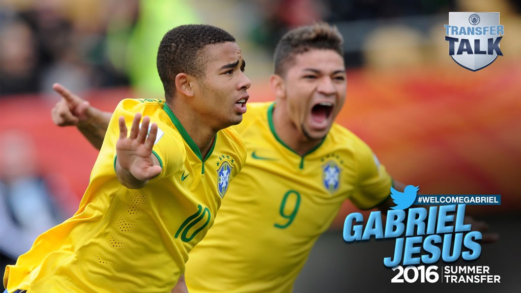 SIXTH SIGNING: Gabriel Jesus is a Blue