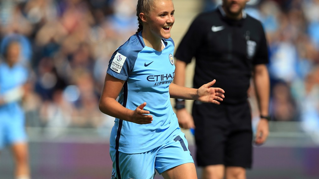 Action: Man City Women v Sunderland AFC Ladies