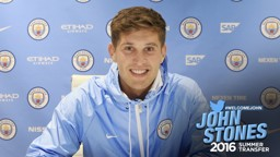 NEW BOY: Stones becomes eighth summer signing
