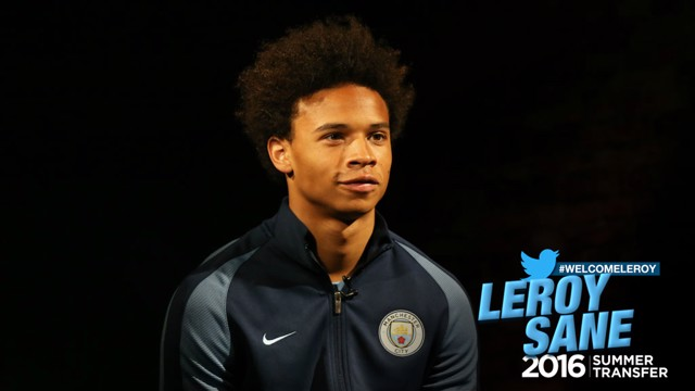 WELCOMELEROY: Sane was the only player to attempt more than 100 dribbles in the Bundesliga in 2016