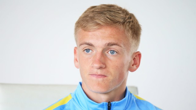 MIDFIELD MAESTRO: Matt Smith is glad he made the move to City as 14-year-old