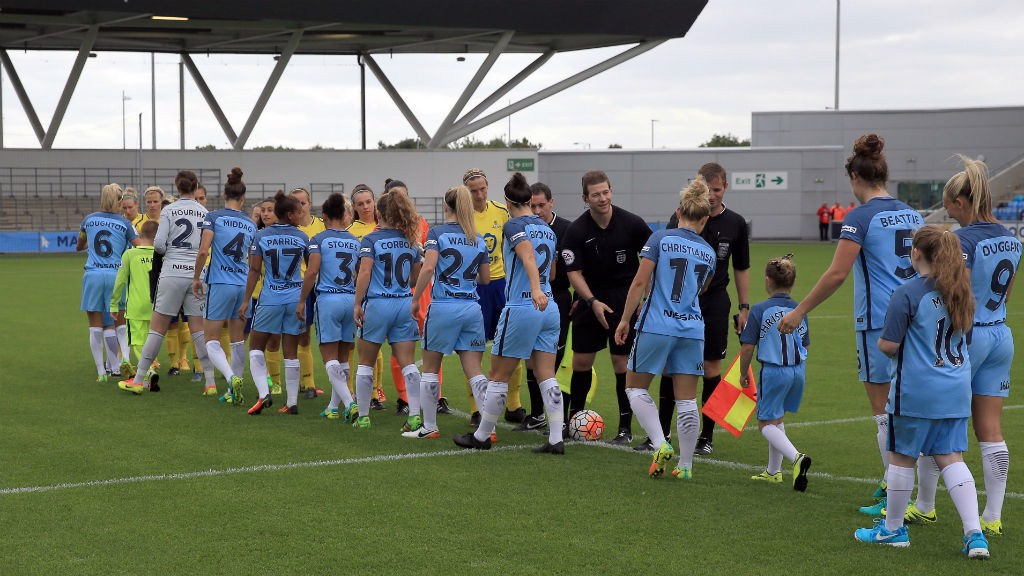 Highlights: Man City Women v Doncaster Belles