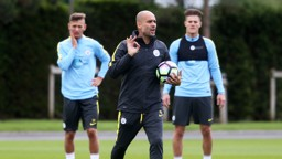 PEP: The City boss feels his side are preparing well for the start of the season