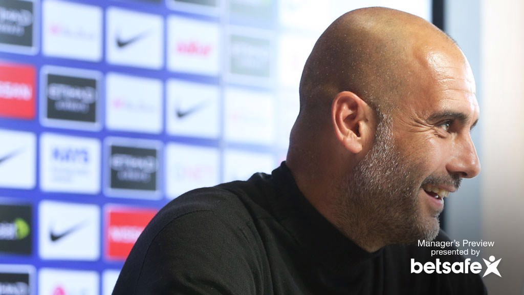 City v Sunderland: Guardiola press conference