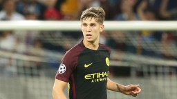 STONES: City's new defender put in a man of the match performance at Stoke
