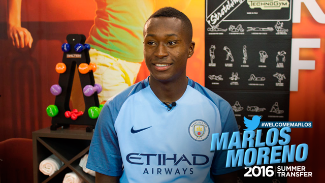 MARLOS MORENO: He's already loved by the fans...