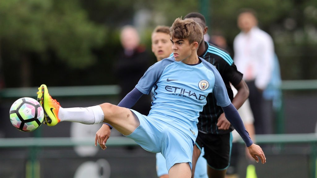 CHALLENGE: The U18s face a physical test this season in the Premier League