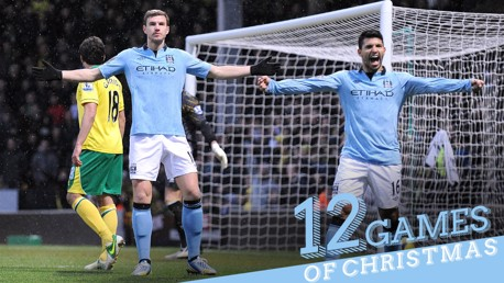 12 games of Christmas #10: Norwich 3-4 City 2012