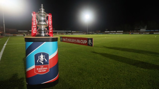 HAMMERS: City will play West Ham United in the FA Cup 3rd round
