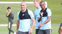 LATIN LESSONS: Zabaleta filed in for Ferna versus Celtic