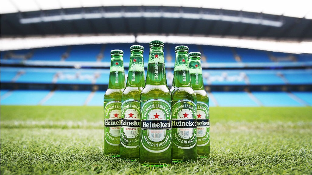 PARTNERS: Heineken have extended their partnership with Manchester City.