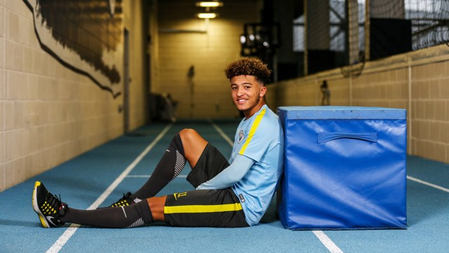 SANCHO: City's winger is excited for the trip to Reading