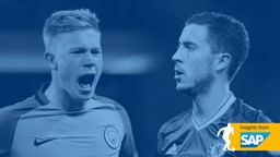 GIFTED: De Bruyne and Hazard go head-to-head