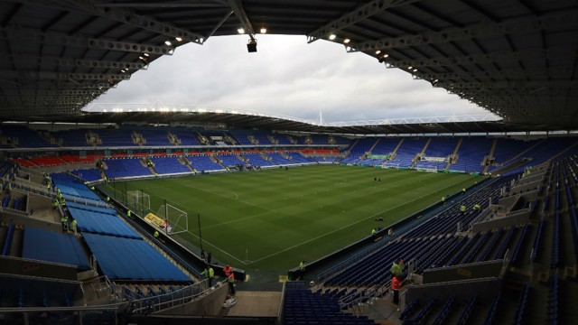 MADEJSKI STADIUM: City travelled to the home of Reading Football Club for their FA Youth Cup tie