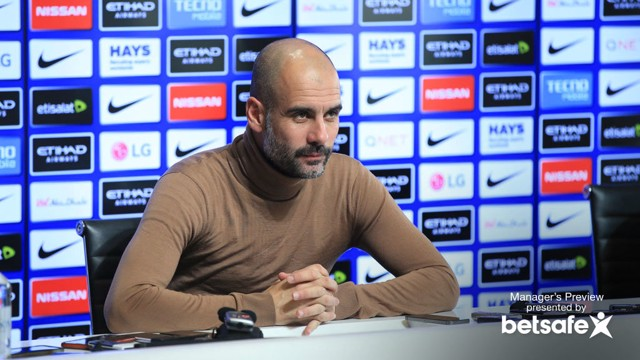 PEP: City will be without five players against Arsenal