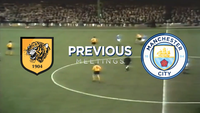 PREVIOUS MEETINGS: Hull v Manchester City