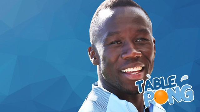 SAGNA: Can City's French star beat Chappy in the latest Santa v Elf challenge?