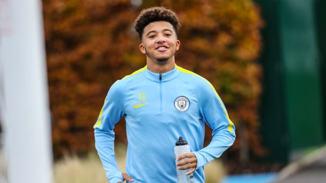 SANCHO: City's winger is in exceptional form so far this season