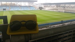 SPECTACLES: Man City has a pair of Snapchat's new point of view cam