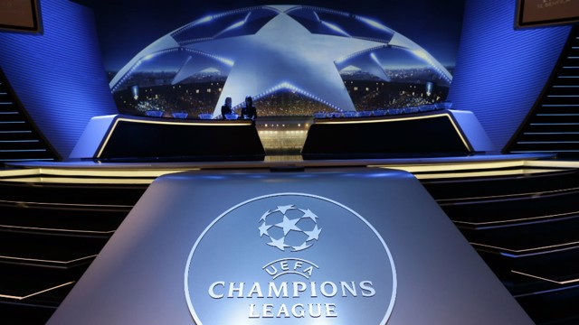 The Champions League draw will take place on Monday 12 December