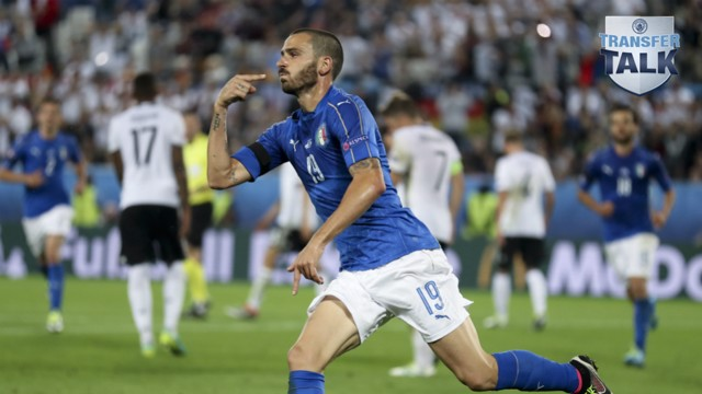 ON POINT: City are close to agreeing a deal for Leonardo Bonucci, according to reports.
