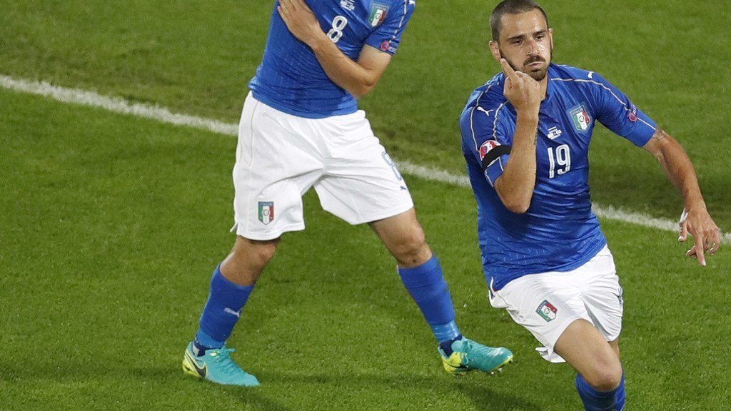 ITALIAN JOB: Centre-back Leonardo Bonucci impressed at Euro 2016 and has been linked with the Blues