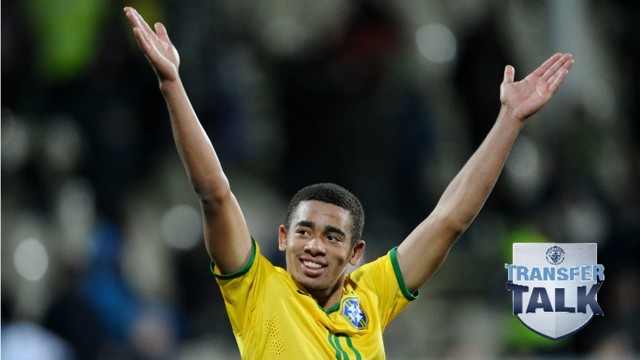 JOY: Jesus celebrates during Brazil's run to the U20 World Cup final in 2015.