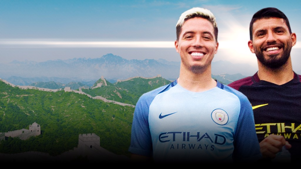 #cityontour: Football tennis on the Great Wall