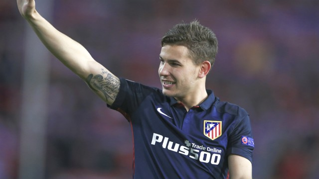 YOUNG GUN: 20-year-old Lucas Hernandez linked with City.