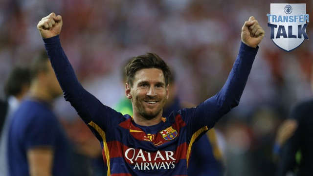 STAR: Could unrest at Barcelona bring Messi to Manchester?